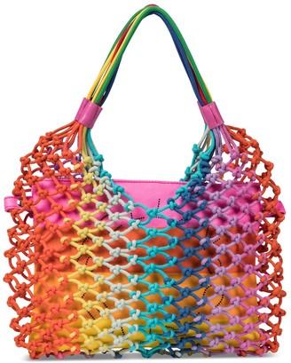Stella McCartney Kids Rainbow knotted bag