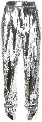 Tibi Avril sequinned trousers