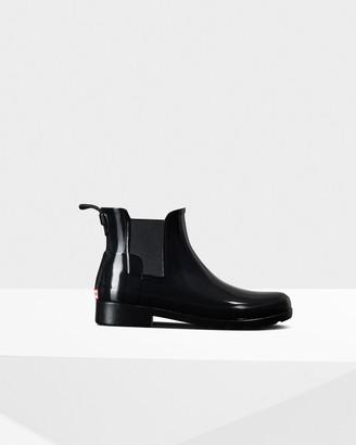 Hunter Women's Refined Gloss Slim Fit Chelsea Boot