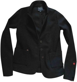 Swildens Black Wool Jacket for Women