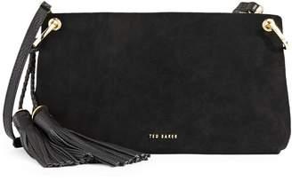 Ted Baker Demetra Tassel Leather Crossbody Bag