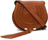 Chloé Marcie Small Saddle Bag With Tassel