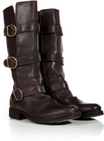 Fiorentini+Baker Leather Buckled Boots