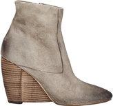 Marsèll Women's Suede Wedge-Heel Boots