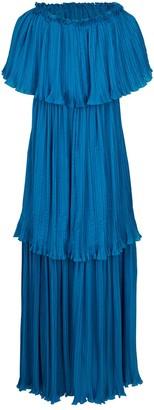 Alberta Ferretti Pongee Dress