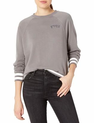 RVCA Junior's Cooper Crew Neck Sweatshirt