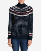 Eddie Bauer Women's Arctic Fair Isle Sweater