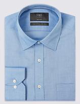 M&s Collection Pure Cotton Non-Iron Regulat Fit Shirt