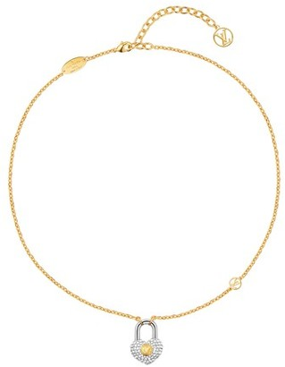 Louis Vuitton Crazy In Lock Strass Supple Necklace