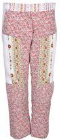 N°21 N21 Floral Print Cropped Trousers