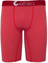 Ethika The Staple (Heather Cherry/ Heather) Underwear-XLarge