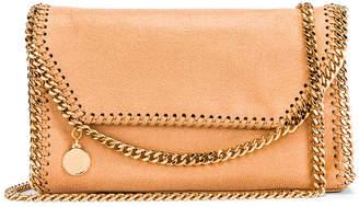 Stella McCartney Mini Falabella Shoulder Chain Bag in Tan | FWRD