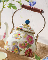 Mackenzie Childs MacKenzie-Childs Morning Glory 2-Quart Tea Kettle
