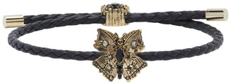 Alexander McQueen Black Friendship Bracelet
