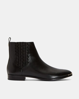 Ted Baker LIVECA Flat leather ankle boot