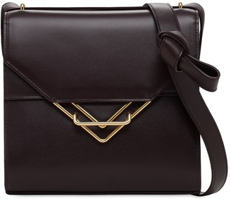 Bottega Veneta The Clip Leather Shoulder Bag