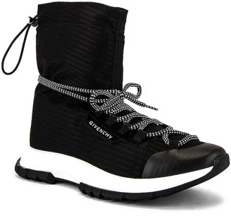 Givenchy Spectre Hi Top Sneaker in Black   FWRD