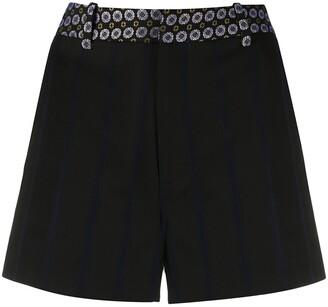 Zadig & Voltaire Pattern Waist Shorts