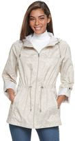 Details Women's Hooded Roll-Tab Packable Anorak Jacket