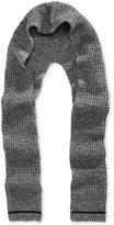 Michael Kors Men's Marled-Knit Hood Scarf