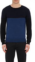 ATM Anthony Thomas Melillo MEN'S COLORBLOCKED SWEATER-NAVY SIZE L
