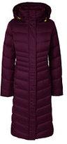Lands' End Women's Plus Size Petite Shimmer Long Down Coat-Pale Rose