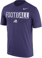 Nike Men's TCU Horned Frogs Legend Football T-Shirt