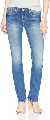 Tommy Hilfiger Women's Straight Leg Sandy Mid Rise Jeans