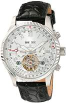 Burgmeister Men's BM330-112 Analog Display Automatic Self Wind Black Watch