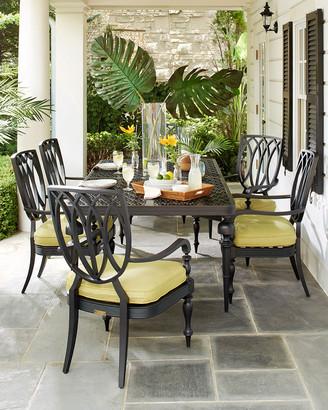 Lane Venture Hemingway Plantation Rectangular Dining Table