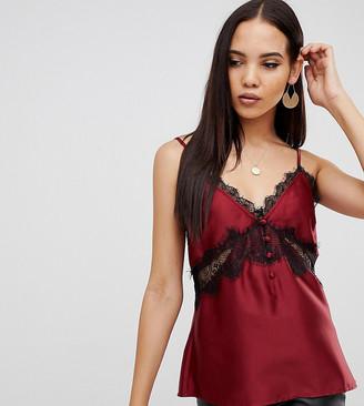 Asos Tall ASOS DESIGN Tall lace detail cami