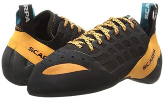 Scarpa Instinct (Black/Orange) Cleated Shoes