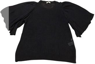 Masscob Navy Linen Knitwear for Women