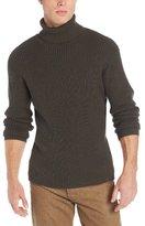 Alex Stevens Men's Ribbed Turtleneck Sweater