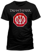 Live Nation Men's Dream Theater - Logo Crew Neck Short Sleeve T-Shirt
