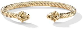 David Yurman 18kt yellow gold Renaissance cuff