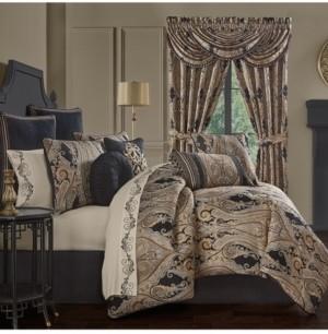 J Queen New York Lauretta Comforter Set of 4 Piece, California King Bedding
