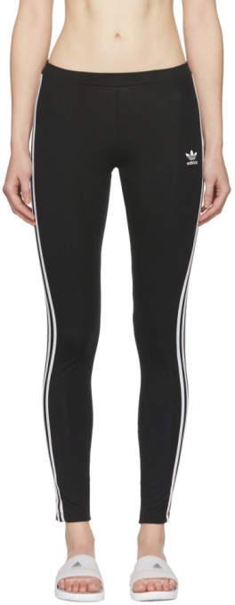adidas Black 3-Stripe Leggings