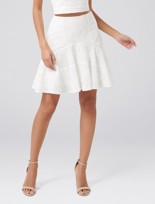 Ever New Florence Embroidered Fit and Flare Co-Ord Skirt