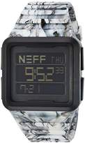 Neff Men's NF0234BLCK Odyssey Digital Display Chinese Automatic Black Watch