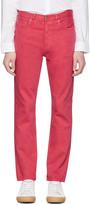 Acne Studios Pink Van Jeans