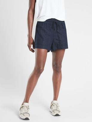 """Athleta Cabo Linen 4"""" Short"""