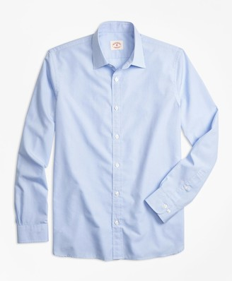 Brooks Brothers Nine-to-Nine Micro-Gingham Shirt