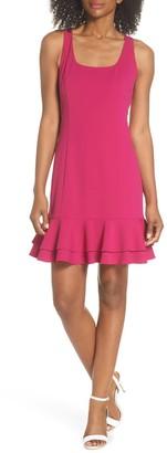 Chelsea28 Ruffle Hem Dress (Petite)