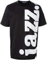 Dolce & Gabbana jazz print T-shirt - men - Cotton - 46