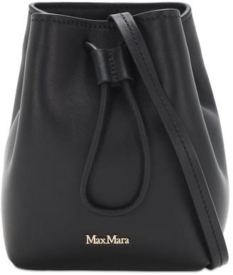 Max Mara Leather Bucket Bag