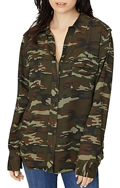 Sanctuary Conroy Camo Shirt
