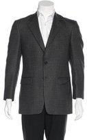 Burberry Wool Tartan Blazer