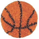 The Well Appointed House Child's Shaggy Raggy Basketball Rug