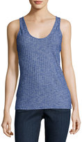 The Fifth Label Delilah Singlet Ribbed Tank, Blue